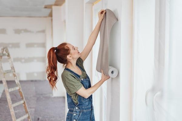 Usuwanie tapety ze ściany