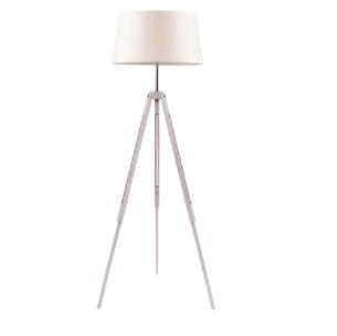Rustykalna lampa podłogowa