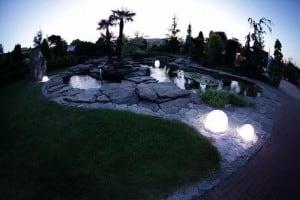 Lampa ogrodowa stojąca Gaja 400/m small 2