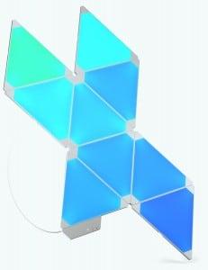 Zestaw Nanoleaf Aurora Light Panels Smarter Kit  9 paneli Smart home small 2