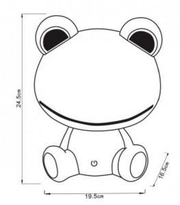 Lampka nocna bezpieczna dla dziecka DODO Frog  small 2