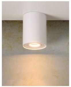 Lampa spot Tube Ø 9,6 cm biała small 2