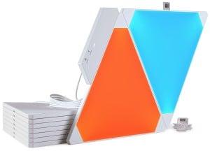 Zestaw Nanoleaf Aurora Light Panels Smarter Kit  9 paneli Smart home small 5