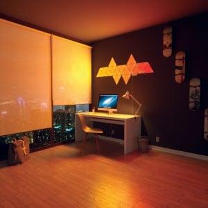 Dodatkowe panele Nanoleaf Aurora Light Panels Expansion Pack Smart home -  3 sztuki small 10