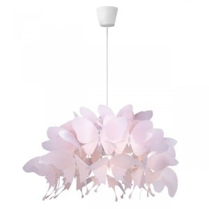 Lampa wisząca dla dziecka Farfalla jasny róż small 1