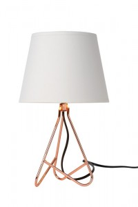Lampa stołowa GITTA miedź small 1