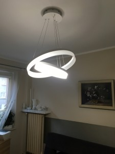 Lampa wisząca Milagro RING LED 065  small 2
