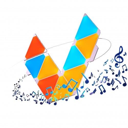 Equalizer Nanoleaf Aurora Rhythm - Światło w rytm muzyki Smart home 3
