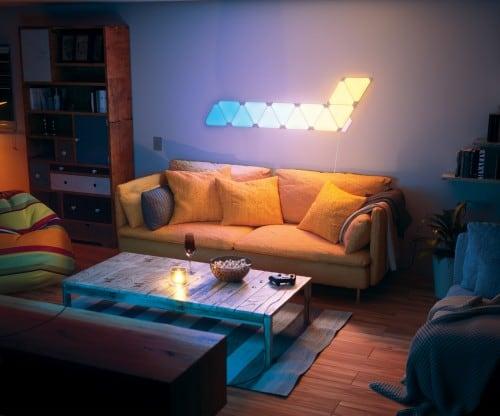 Dodatkowe panele Nanoleaf Aurora Light Panels Expansion Pack Smart home -  3 sztuki 8