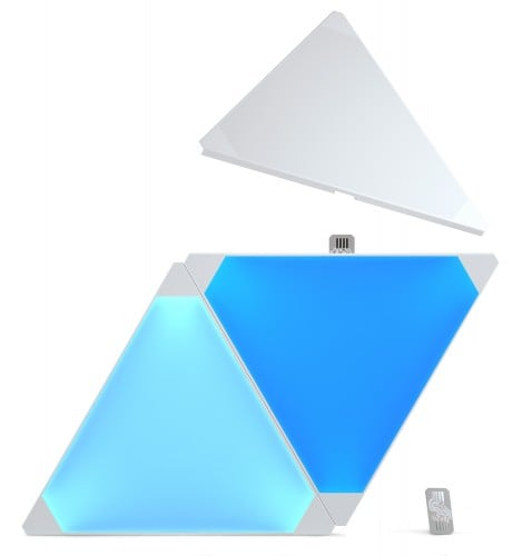 Dodatkowe panele Nanoleaf Aurora Light Panels Expansion Pack Smart home -  3 sztuki 2