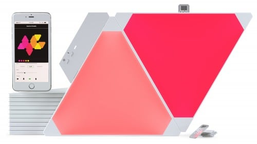 Dodatkowe panele Nanoleaf Aurora Light Panels Expansion Pack Smart home -  3 sztuki