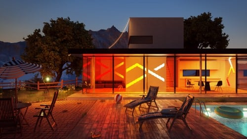 Dodatkowe panele Nanoleaf Aurora Light Panels Expansion Pack Smart home -  3 sztuki 4