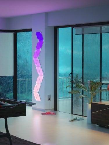 Equalizer Nanoleaf Aurora Rhythm - Światło w rytm muzyki Smart home 12