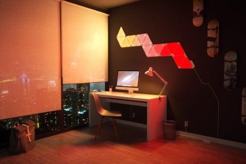 Dodatkowe panele Nanoleaf Aurora Light Panels Expansion Pack Smart home -  3 sztuki 7