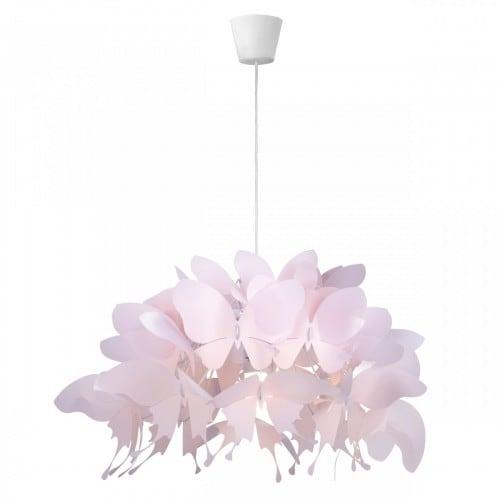 Lampa wisząca dla dziecka Farfalla jasny róż 1