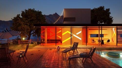 Equalizer Nanoleaf Aurora Rhythm - Światło w rytm muzyki Smart home 5