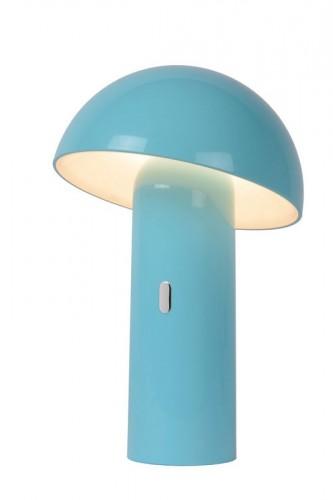 Lampa stołowa FUNGO pastelowy niebieski 1
