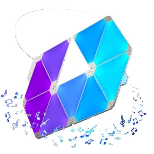 Equalizer Nanoleaf Aurora Rhythm - Światło w rytm muzyki Smart home