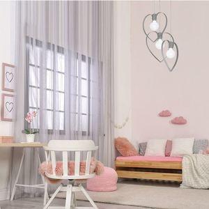Szara Lampa Sufitowa Amore Grey 3x E27 small 1