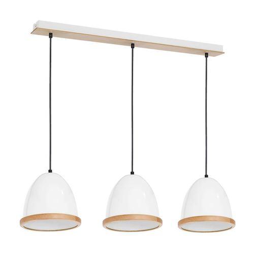 Biała Lampa Wisząca Studio White 3x E27