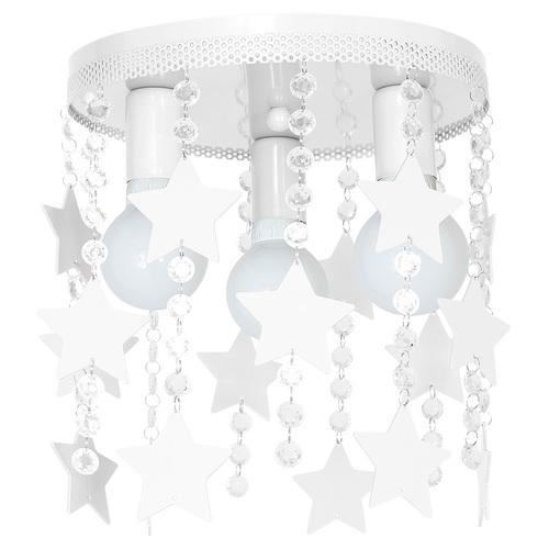 Biała Lampa Sufitowa Star 3x E27