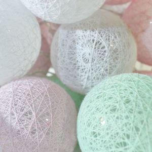 Wielokolorowe Kule Led Cotton Balls 230 V 30 Szt. small 1