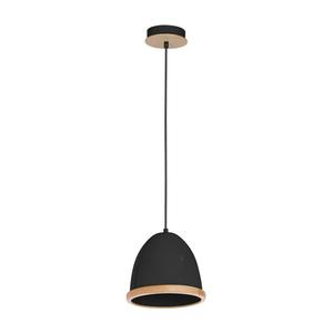 Czarna Lampa Wisząca Studio Black 1x E27 small 0