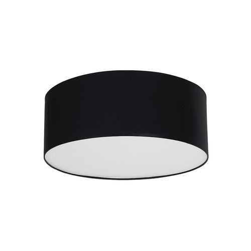 Czarna Lampa Sufitowa Bari Black 3x E27