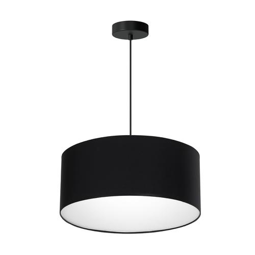 Czarna Lampa Wisząca Bari Black 3x E27