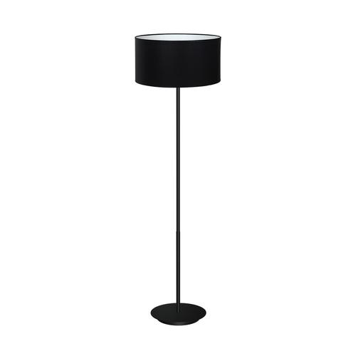 Czarna Lampa Stojąca Bari Black 1x E27