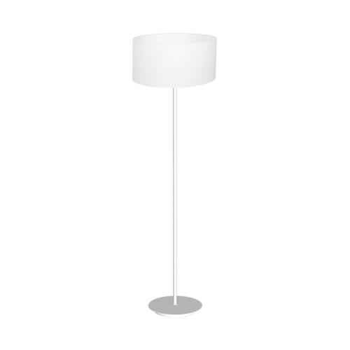 Biała Lampa Stojąca Bari White 1x E27