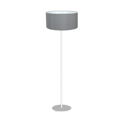 Szara Lampa Stojąca Bari Grey 1x E27