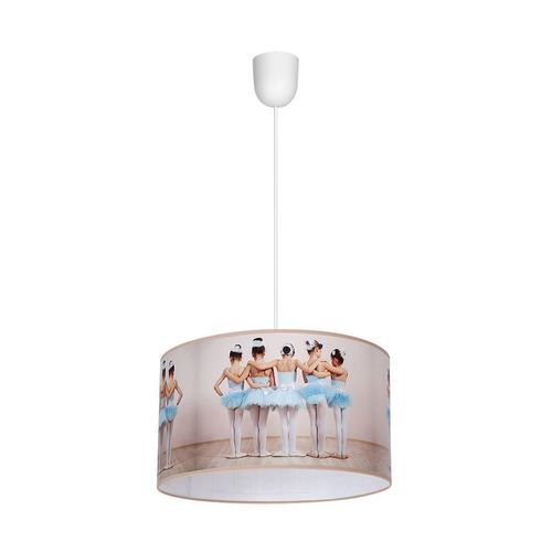 Wielokolorowa Lampa Wisząca Ballerina 1x E27