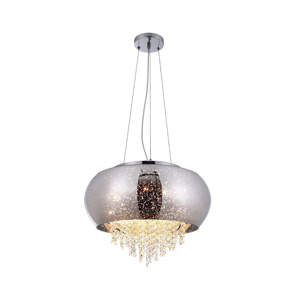 Kryształowa Lampa Wisząca Starlight 4x E14