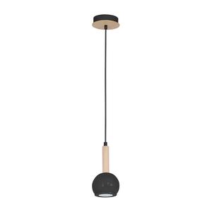 Czarna Lampa Wisząca Bolle Black 1x Gu10 small 0