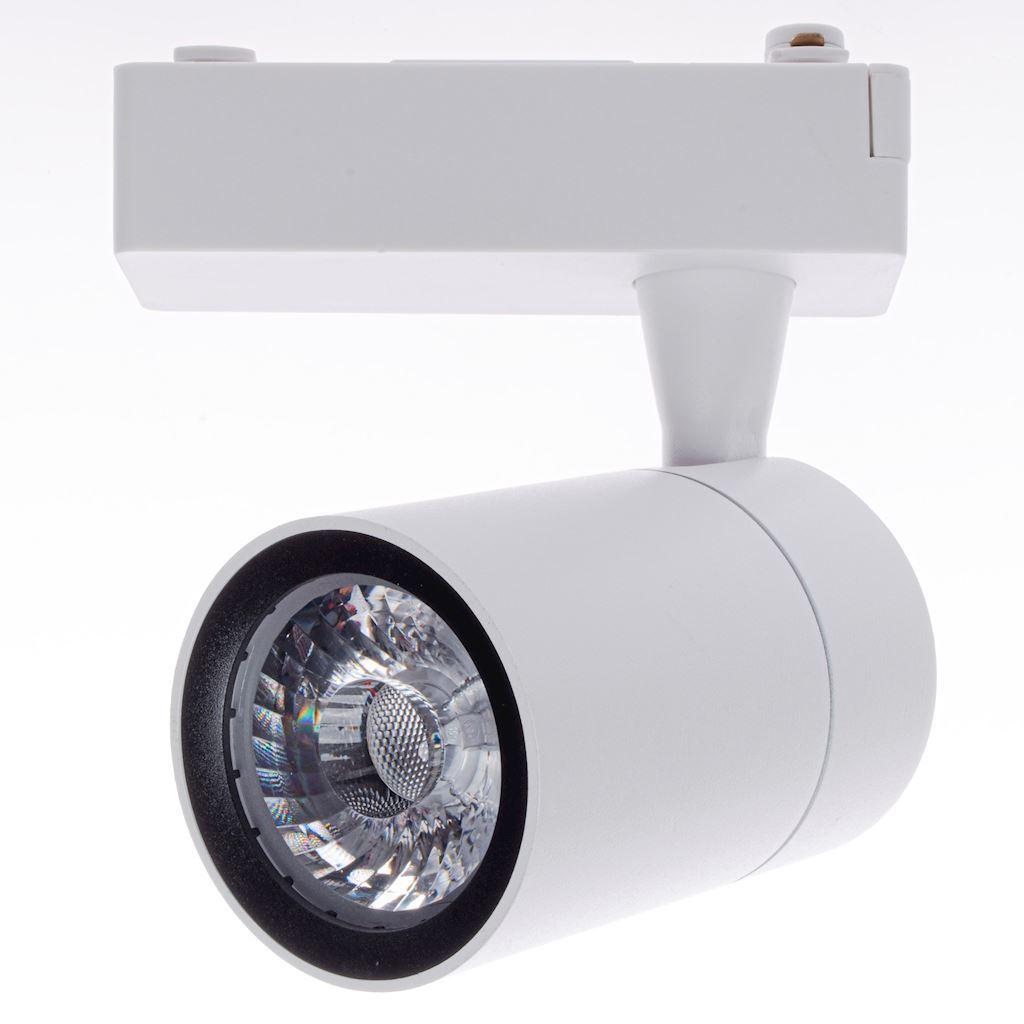 Biała Lampa Sufitowa Track Light 7 W Led White 4000 K