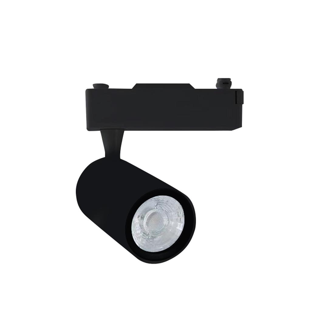 Czarna Lampa Sufitowa Track Light 12 W Led Black 4000 K