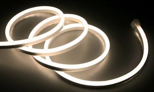 Biały Neon Flex Led Ciepły 5 M 230 V IP67