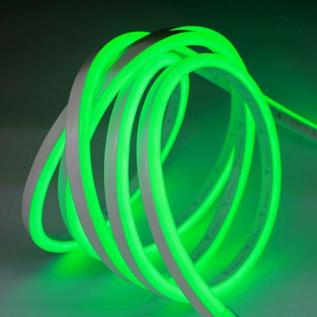 Biały Neon Flex Led Zielony 5 M 230 V IP67
