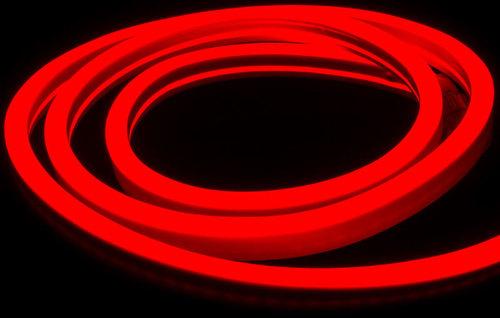 Biały Neon Flex Led Czerwony 5 M 230 V IP67