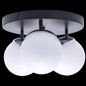 Chrom Lampa Sufitowa Sfera 3x E14 small 7