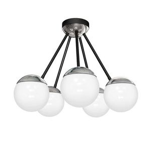 Chrom Lampa Sufitowa Sfera 5x E14 small 0