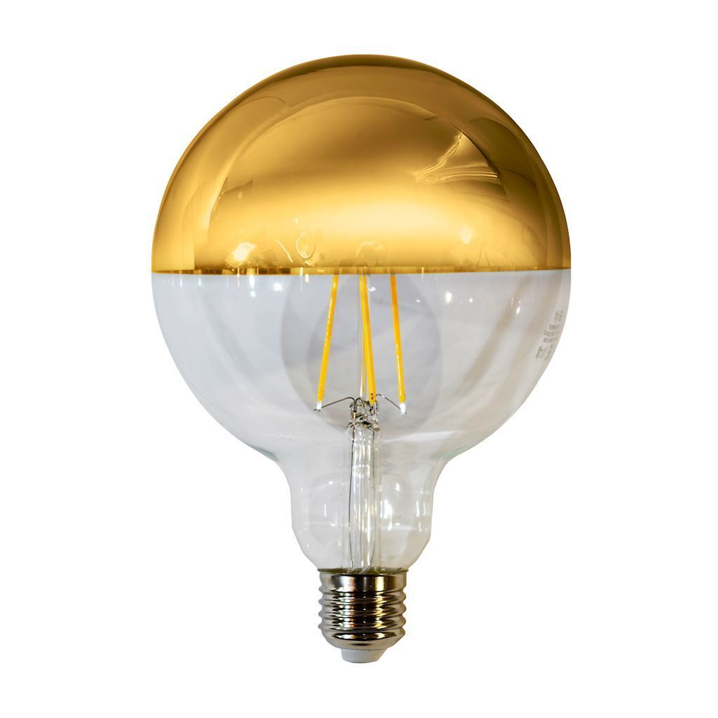 Żarówka Filamentowa Led 7,5 W G125 E27 Gold