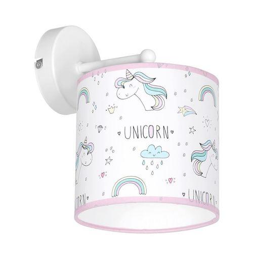 Wielokolorowy Kinkiet Unicorn 1x E27