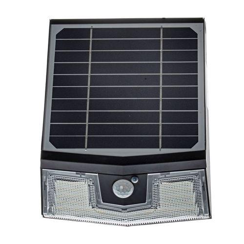 Czarna Lampa Solarna Transformer 7 W 4000 K IP65