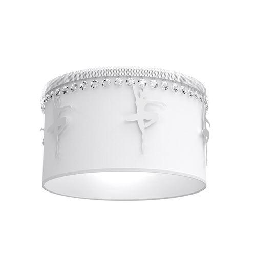 Biała Lampa Sufitowa Baletnica White 1x E27
