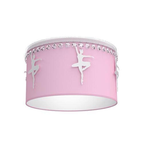 Różowa Lampa Sufitowa Baletnica Pink 1x E27
