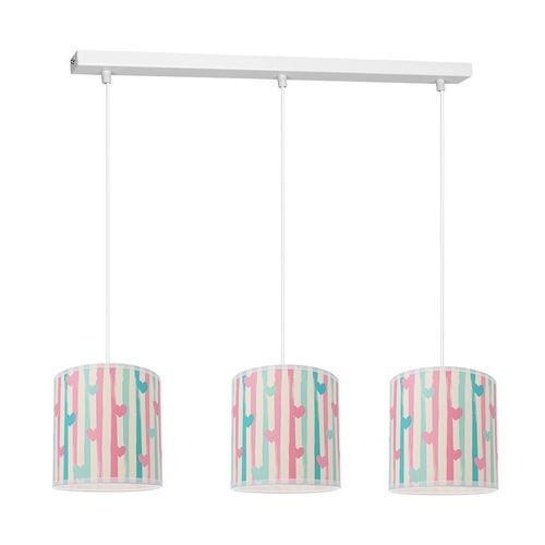 Wielokolorowa Lampa Sufitowa Lovely 3x E27