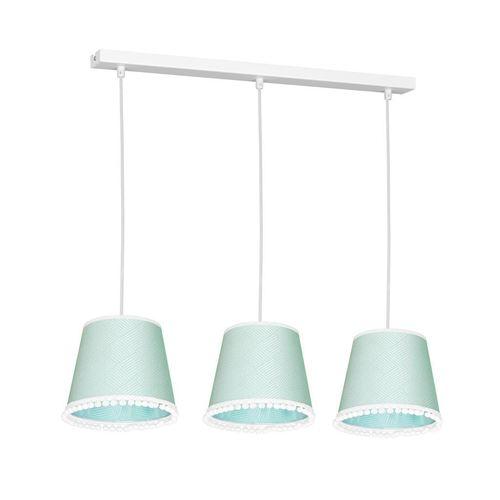 Miętowa Lampa Wisząca Daisy Mint 3x E27