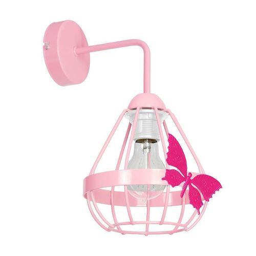 Różowy Kinkiet Kago Pink 1 Xe27